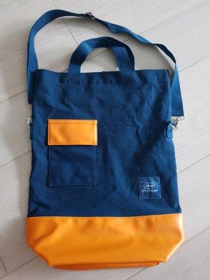 Festival de Cannes Stofftasche blau-orange, NEU
