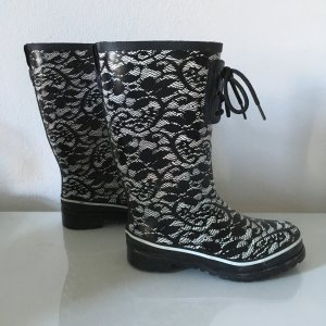 H&M Wellington laarzen veelkleurig Gemengd weefsel