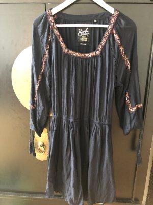 Superdry Hippie Dress dark blue