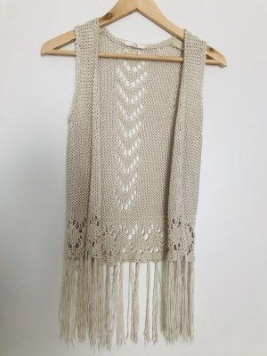 C&A Knitted Vest natural white
