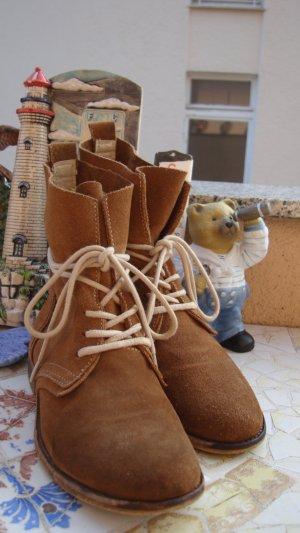 FESTIVAL-STYLE DOCKERS SHOES BOOTS Schnür-Stiefeletten Desert-Boots Echtleder BOHO BOHEME FESTIVAL ANTIK-STYLE USED-STYLE VINTAGE-STYLE AB WERK SO GEWOLLT!!! ABSOLUT NEUWERTIG! 36//36,5/37 (gekennzeichnet mit 37) NEUPREIS 129,99€ !!! Gerne Preisvorschlag!