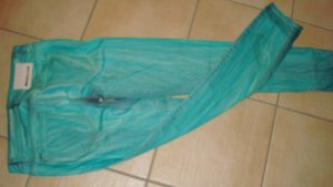 FESTIVAL-STYLE RICH & ROYAL Damen SKINNY-Jeans 26/32 Grösse 36 S Stretchjeans türkis used-Style Batik-Style Neupreis 132,95 € Boho Boheme, Hippie... Neu Gerne Preisvorschläge!!!