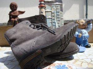 FESTIVAL-STYLE STREET SHOES BOOTS Budapester-Stiefeletten Desert-Boots Echtleder BOHO BOHEME FESTIVAL ANTIK-STYLE... NEU! 36/37 NEUPREIS 129,99€ !!! Gerne Preisvorschlag!!!