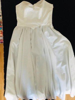 Vestido bustier blanco