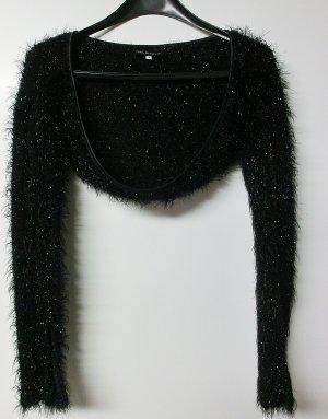 Ana Alcazar Bolero zwart Polyester