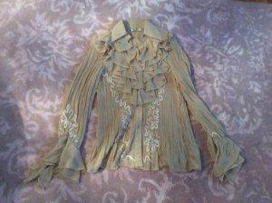 Festliche Bluse aus Viscose und Silk
