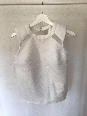 Festliche Bluse mit Details aus Mesh