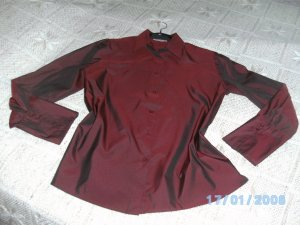 Festliche Bluse mit edler Strassverzierung von Gerry Weber Größe 42 in sehr gutem Zustand