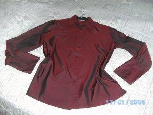Gerry Weber Glanzende blouse bordeaux-karmijn