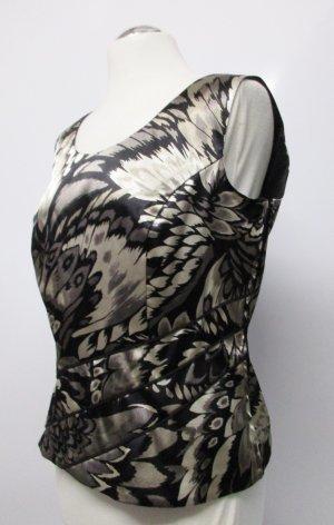 Hermann Lange Haut type corsage multicolore tissu mixte