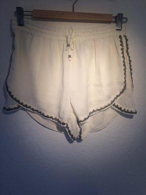 Festliche Shorts mit Perlenbesatz neu!