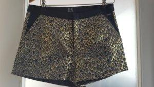 Festliche Shorts mit Pfauenaugen Größe S