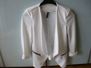 Festlicher Blazer in weiß