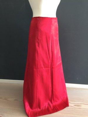 Zero Maxi Skirt brick red