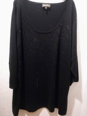 Fine Knitted Cardigan black