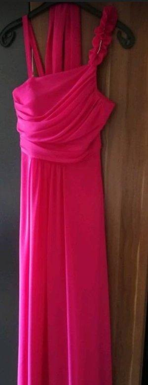 festliches Damen Kleid in pink... Einmal getragen