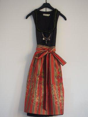 festliches Dirndl von Tramontana, schwarz-rot, Gr. 36, Länge 70cm