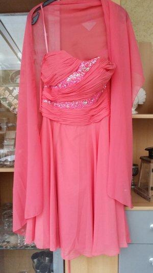festliches Kleid 36 NEU inkl. Stola