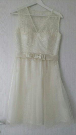 Festliches Kleid 38 von Laona, Brautkleid, Ballkleid, Standesamt, kurz, spitze