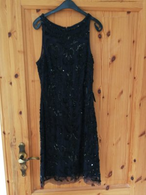 Adrianna Papell Sequin Dress black-dark blue