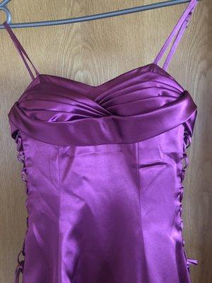 festliches Kleid aus Satin Glanzstoff