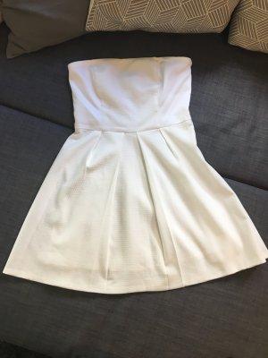 Naf naf Vestido bustier blanco