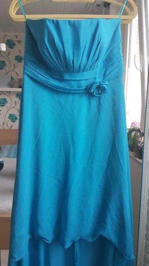 festliches Kleid #Blau #Vokuhilakleid #Gr.42