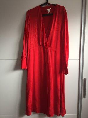 H&M Wikkeljurk rood