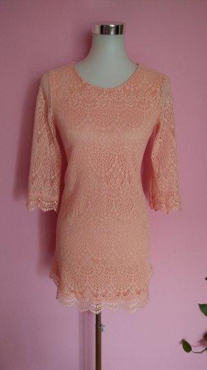 Festliches Kleid in apricot (K1)