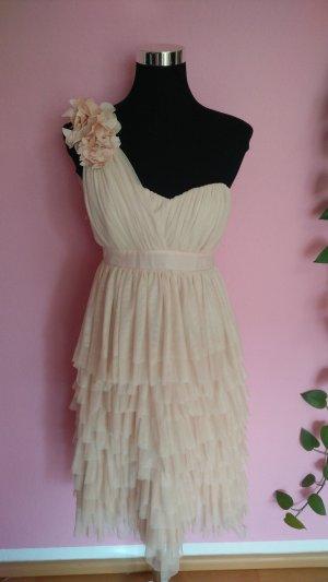 Festliches Kleid in creme/nude (BK)