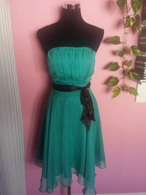 Festliches Kleid in grün/petrol (K2)