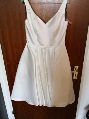 Festliches Kleid / Ivory Farbe/ Satin