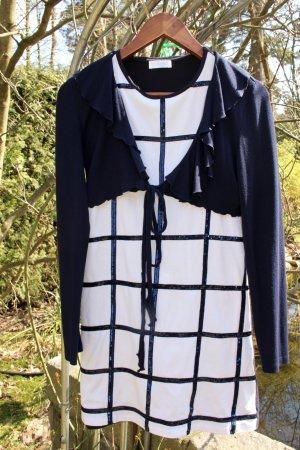 festliches Kleid mit bestickten Pailletten