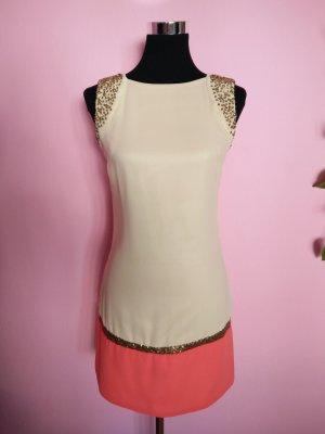 Festliches Kleid mit Pailetten und Perlen für Silvester/Party/Hochzeit (Box 1)