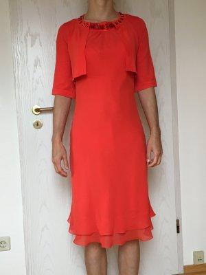 1.2.3 Paris Midi Dress orange-red