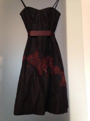 festliches Korsagen-Kleid/Cocktailkleid mit Petticoat, Zero