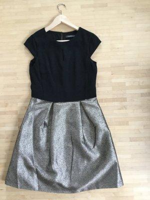 Festliches, raffiniertes Kleid in schwarz & Gold, Esprit, Gr. 36, ungetragen!!!