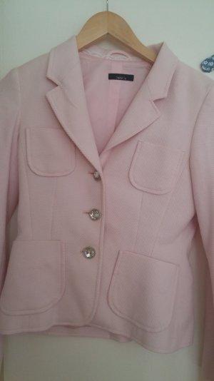 festliches rosa Kostüm (Blazer und Rock)