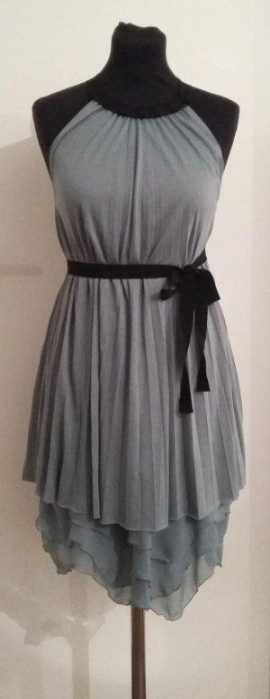 Blaumax A-lijn jurk lichtblauw Gemengd weefsel