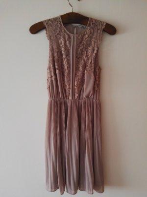 H&M Lace Dress dusky pink