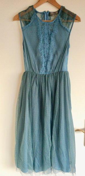 Festliches stahlblaues Kleid von ASOS