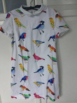 Fetziges Vogel-Kleid im 60th Stil