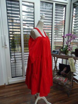 Feuerrotes Sommerkleid von H&M 36-42