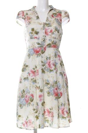 Fever london Blusenkleid Blumenmuster Casual-Look