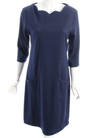 Fever london Kleid dunkelblau Jeans-Optik