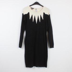 FEVER LONDON Kleid Gr. 36 schwarz weiß (18/9/517)