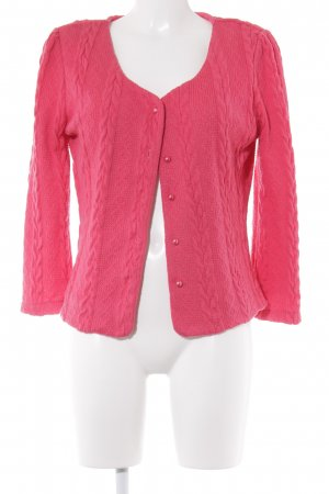 Fever london Strick Cardigan pink Casual-Look