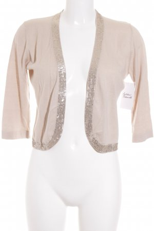 FFC Bolero creme-silberfarben Business-Look