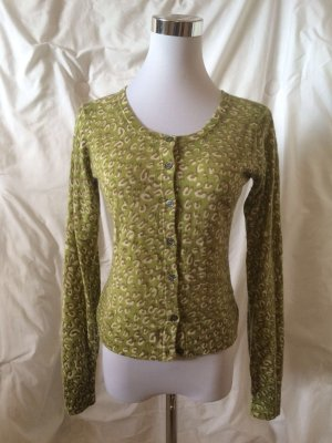 FFC Cardigan lime-green cashmere