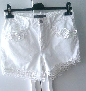 FFC Designer Shorts Bermuda Jeans Weiß Gr.34 XS